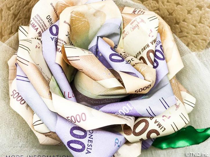 紙幣花束2